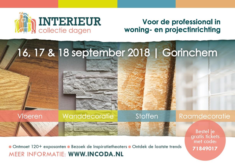 Bestel uw uitnodigingskaart voor de Interieur Collectie Dagen 2018 ...